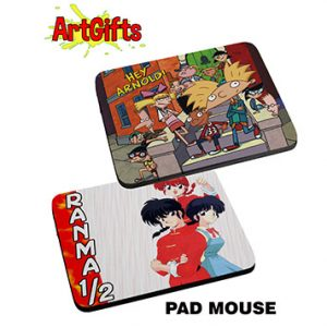 Mouse pad de ranma y hey arnold